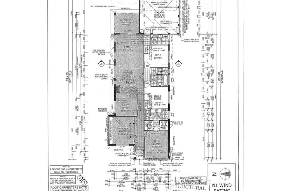 Floorplan of Homely house listing, 30 Flindell Avenue, Caversham WA 6055