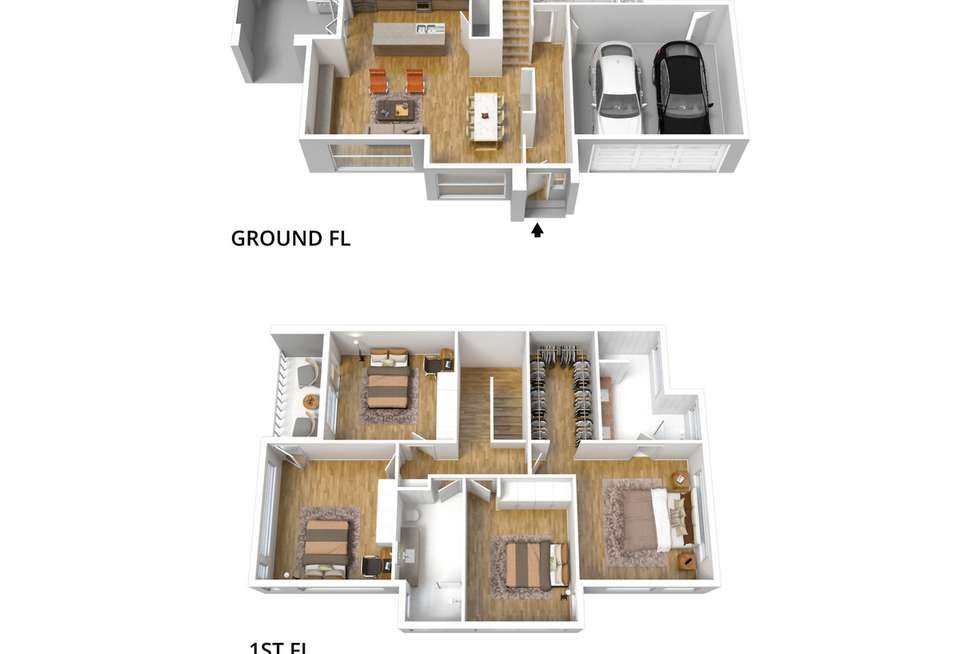 Floorplan of Homely house listing, 91A William Street, Norwood SA 5067