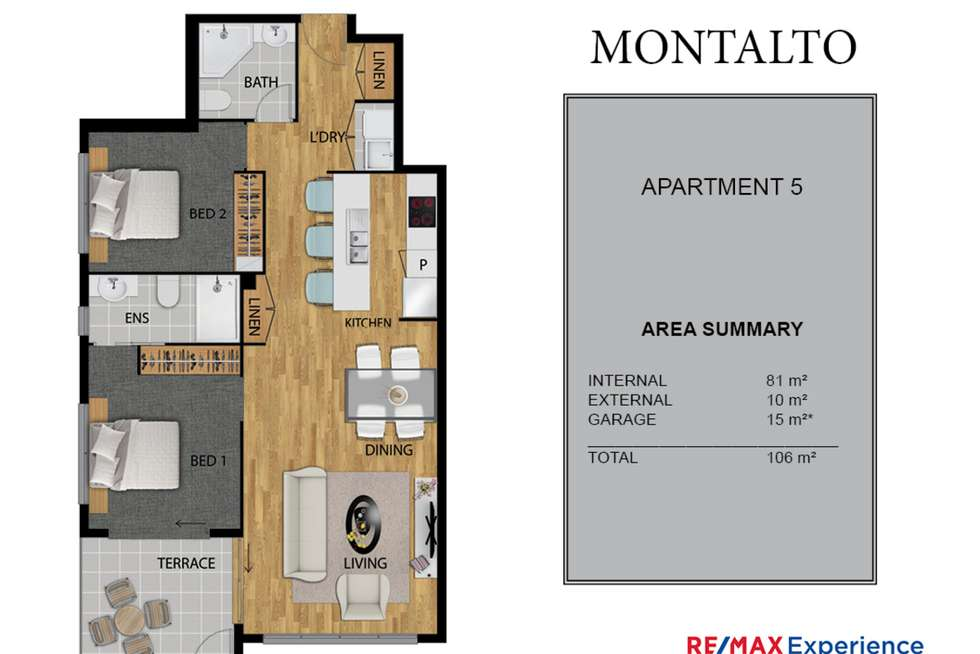 Floorplan of Homely unit listing, 5/19 Jones Road, Carina Heights QLD 4152