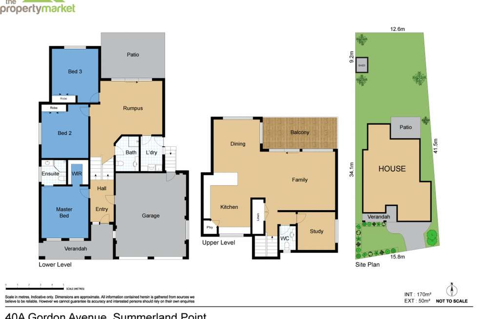 Floorplan of Homely house listing, 40A Gordon Avenue, Summerland Point NSW 2259