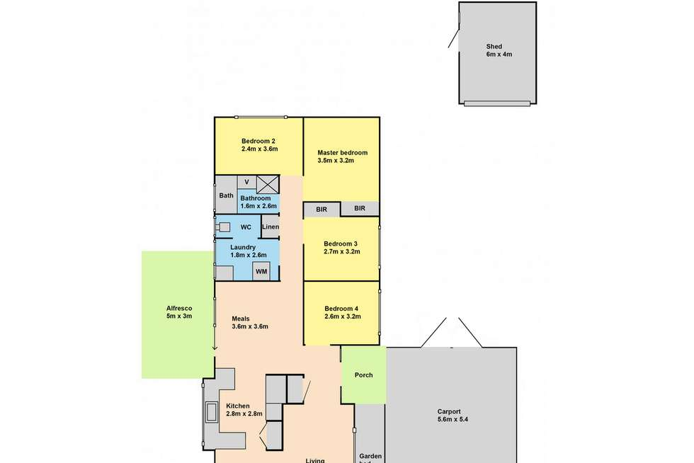 Floorplan of Homely house listing, 19 Coverdale Drive, Sale VIC 3850