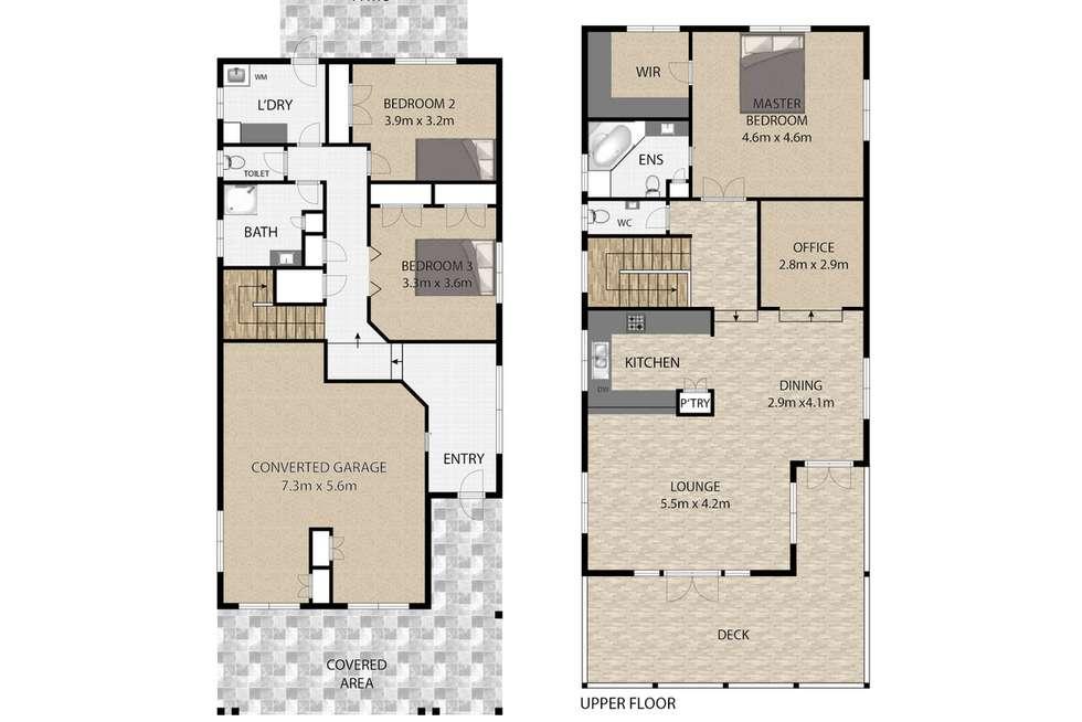 Floorplan of Homely house listing, 8 George Street, Ormiston QLD 4160