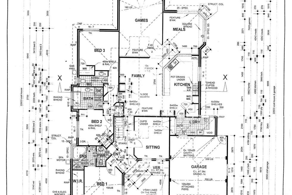 Floorplan of Homely house listing, 41 Ambassador Drive, Currambine WA 6028
