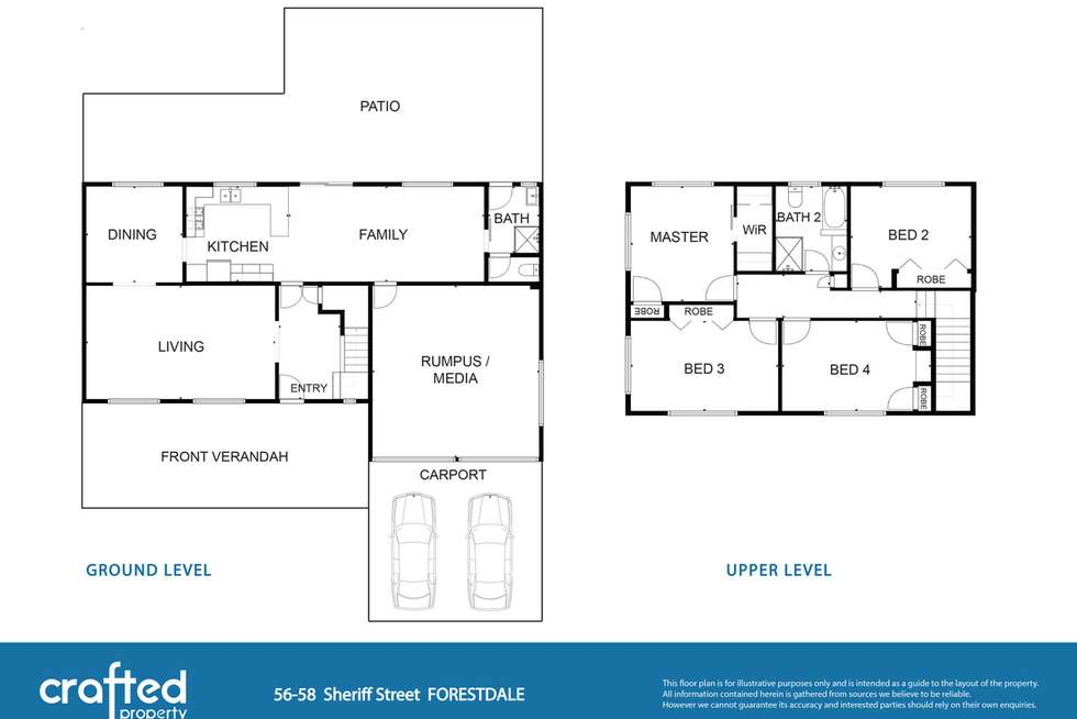 Floorplan of Homely house listing, 56 Sheriff Street, Forestdale QLD 4118