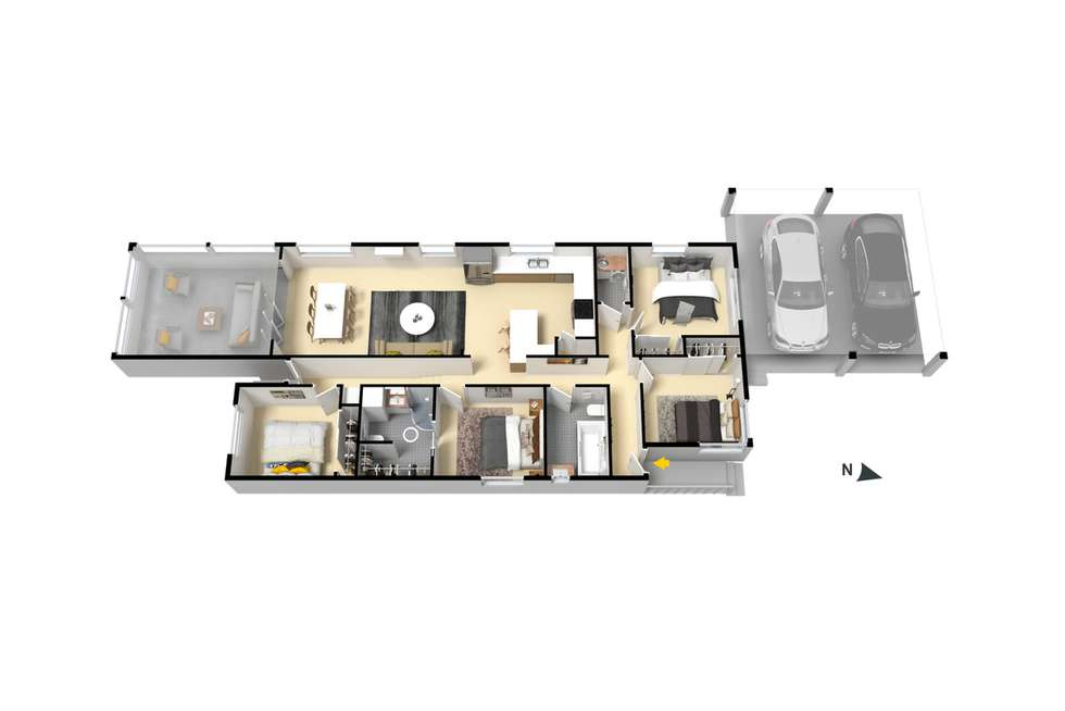 Floorplan of Homely house listing, 105 Lumley Street, Upper Mount Gravatt QLD 4122