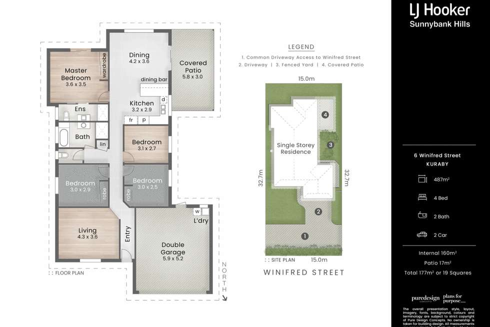 Floorplan of Homely house listing, 6 Winifred Street, Kuraby QLD 4112