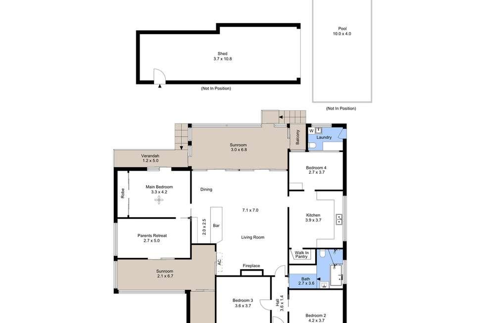 Floorplan of Homely house listing, 15 Bridge Street, Waratah NSW 2298
