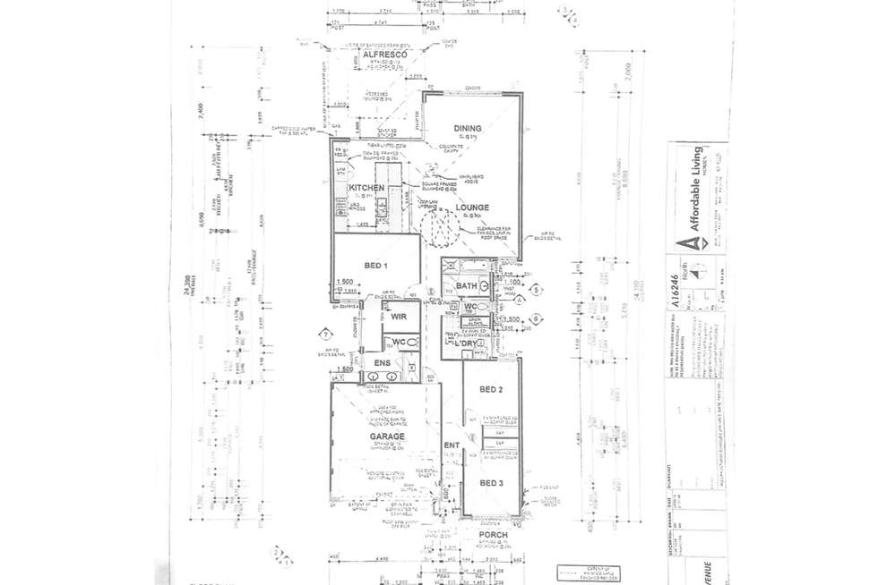 Floorplan of Homely house listing, 26 Balwyn Avenue, Caversham WA 6055
