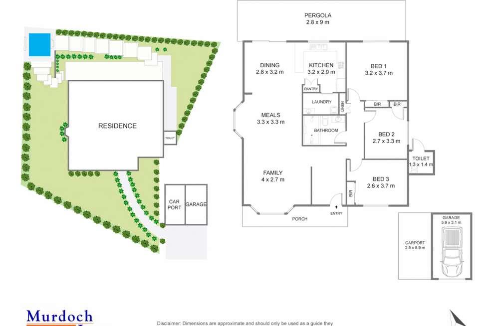 Floorplan of Homely villa listing, 7/75A Crane Road, Castle Hill NSW 2154