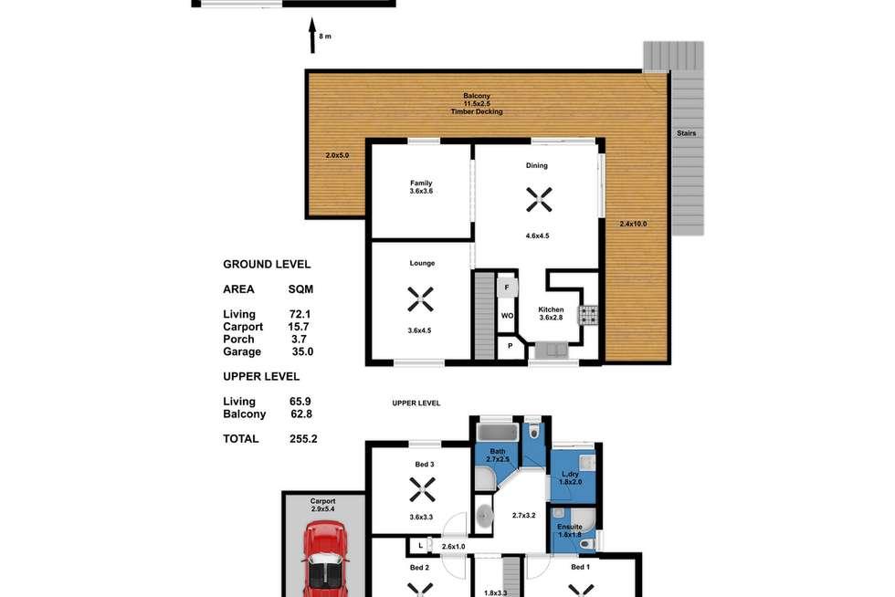 Floorplan of Homely house listing, 5 North Terrace, Mannum SA 5238