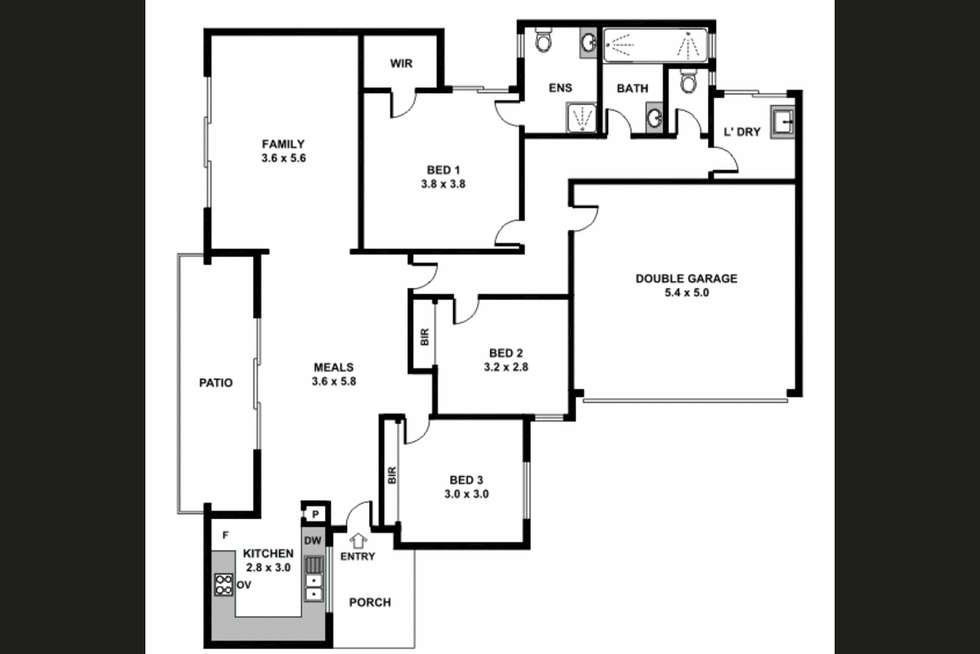 Floorplan of Homely house listing, 31b Hartfield Street, Queens Park WA 6107