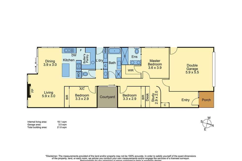 Floorplan of Homely house listing, 8 Carnoustie Grove, Mornington VIC 3931