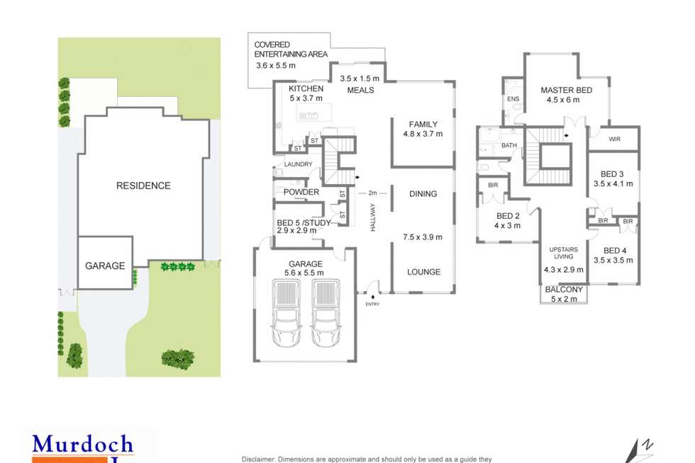 Floorplan of Homely house listing, 82 Pentonville Parade, Castle Hill NSW 2154