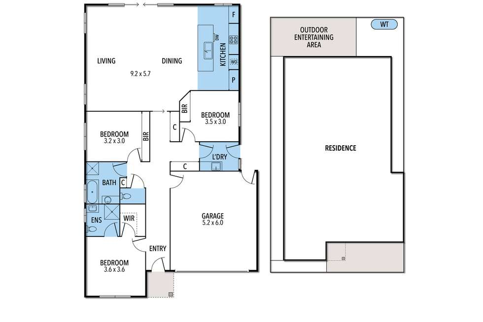 Floorplan of Homely house listing, 4/45 Clifton Springs Road, Drysdale VIC 3222