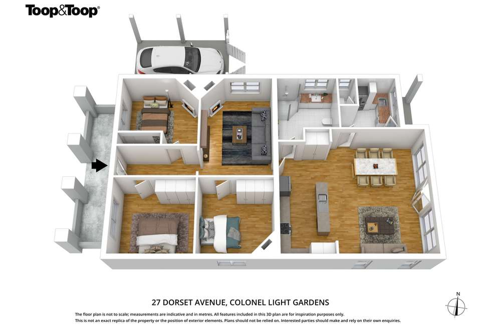 Floorplan of Homely house listing, 27 Dorset Avenue, Colonel Light Gardens SA 5041