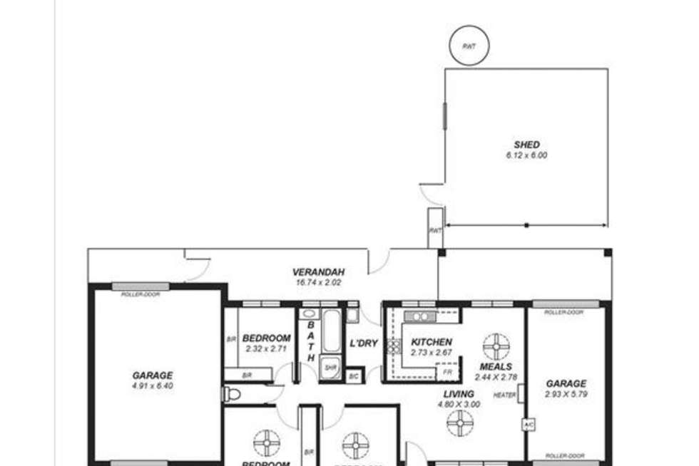 Floorplan of Homely house listing, 41 Berryman Avenue, Mannum SA 5238
