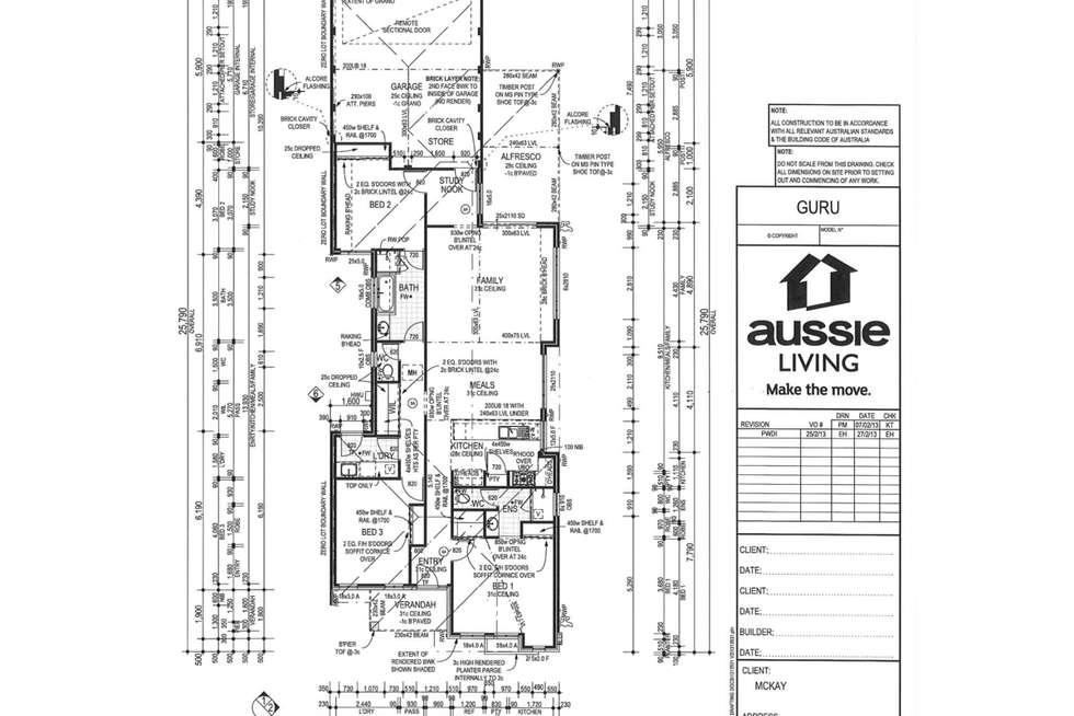 Floorplan of Homely house listing, 47 Summerville Boulevard, Caversham WA 6055