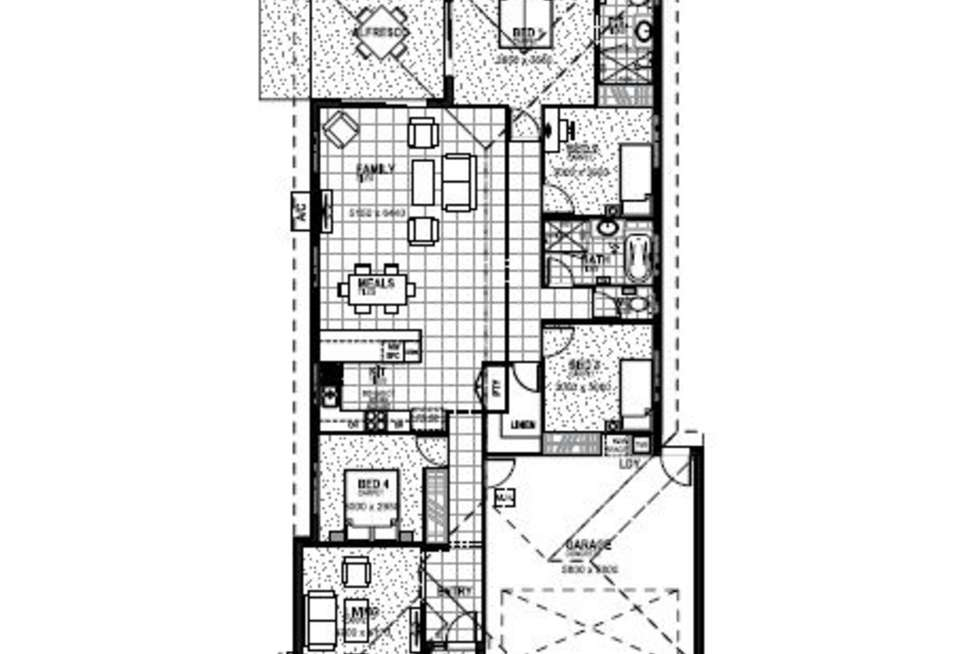 Floorplan of Homely house listing, Lot 6 Illium Street, Rochedale QLD 4123