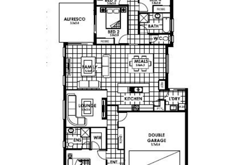 Floorplan of Homely house listing, Lot 93 TBA, Rochedale QLD 4123