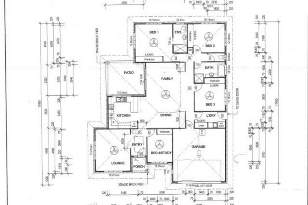 Floorplan of Homely house listing, 6 Cycad Court, Norman Gardens QLD 4701