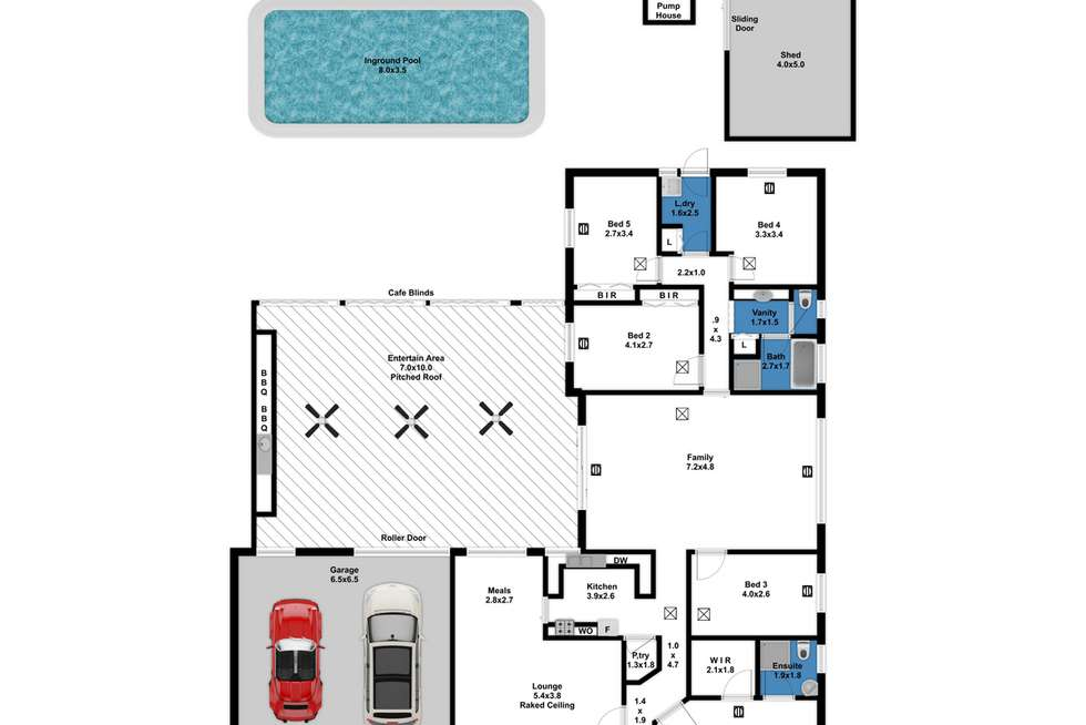 Floorplan of Homely house listing, 20 Priory Road, Gulfview Heights SA 5096