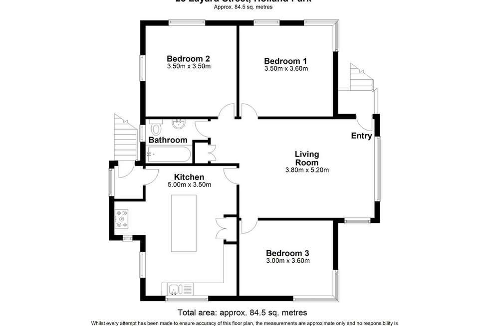 Floorplan of Homely house listing, 23 Layard Street, Holland Park QLD 4121
