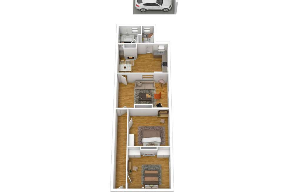 Floorplan of Homely house listing, 14 Eleventh Street, Bowden SA 5007