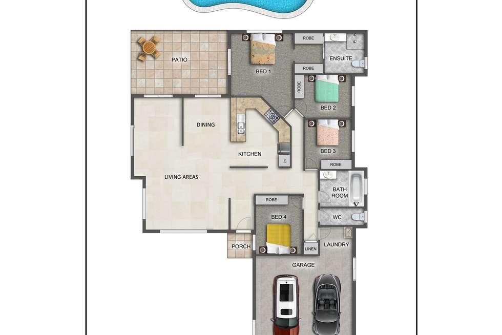 Floorplan of Homely house listing, 29 Castor Street, Clifton Beach QLD 4879
