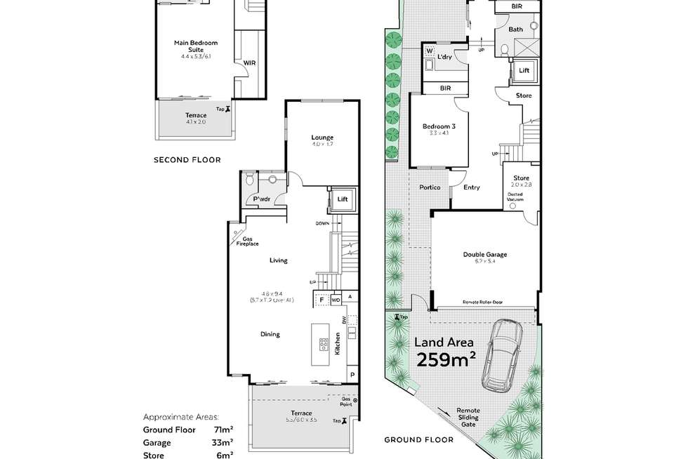 Floorplan of Homely house listing, 3A Lake Monger Drive, West Leederville WA 6007