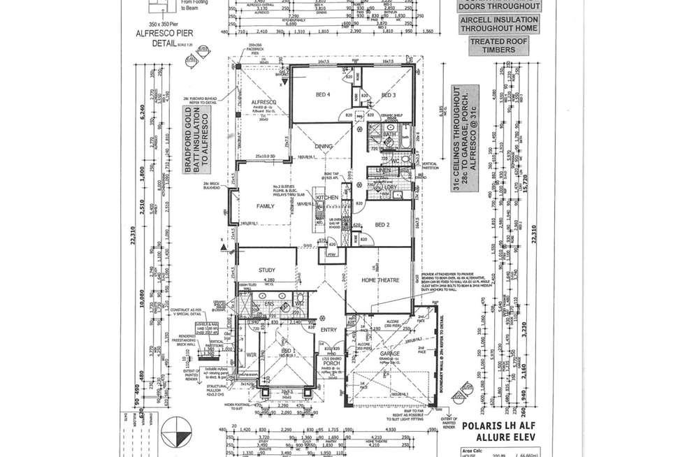 Floorplan of Homely house listing, 6 Millot Vista, Caversham WA 6055