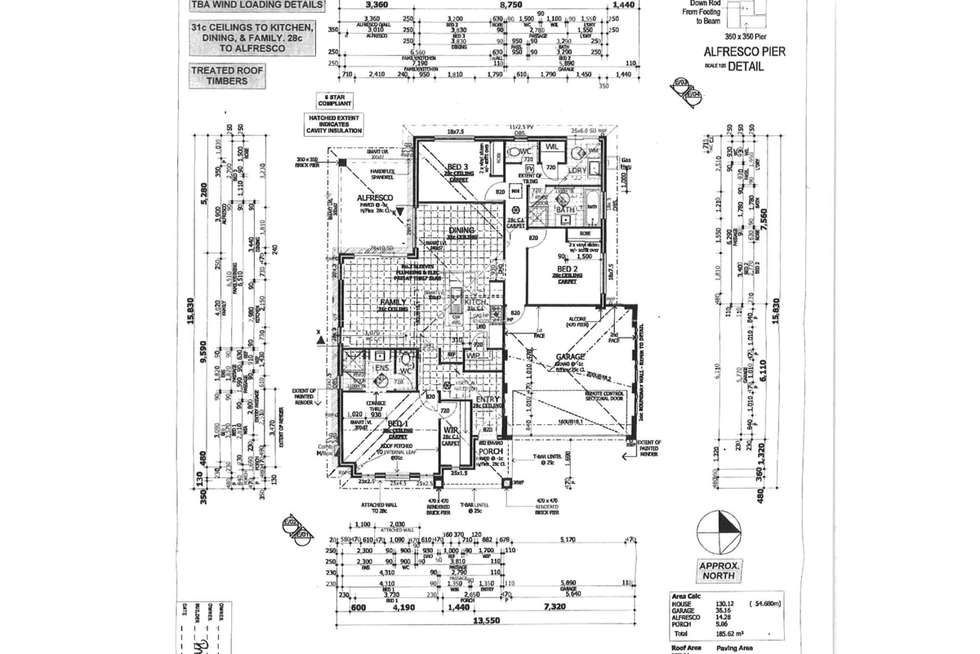 Floorplan of Homely house listing, 15 Callet Drive, Caversham WA 6055