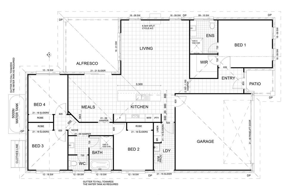 Floorplan of Homely house listing, 70 Landsdowne Drive, Ormeau Hills QLD 4208