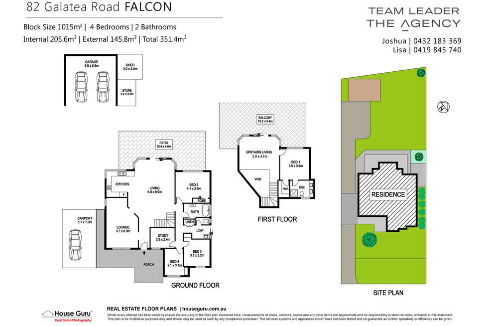 Floorplan of Homely house listing, 82 Galatea Road, Falcon WA 6210