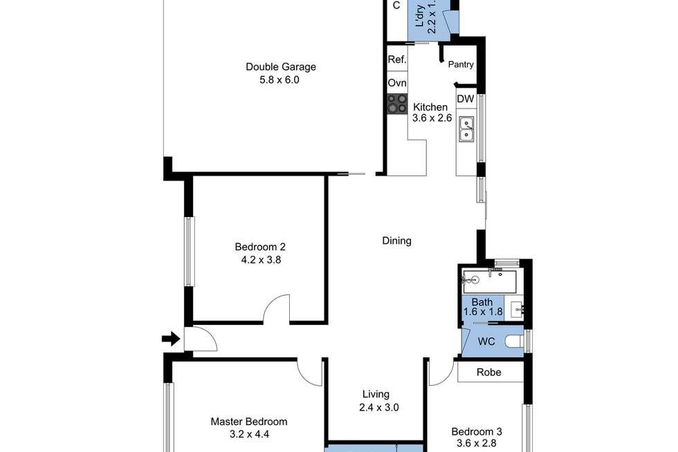 Floorplan of Homely house listing, 50 Ella Street, Adamstown NSW 2289