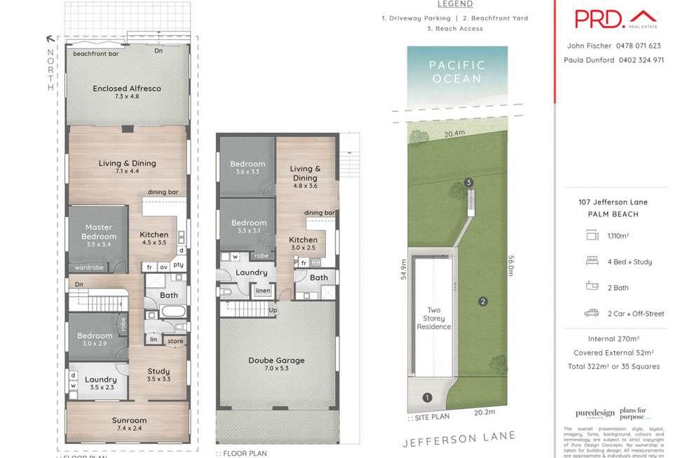 Floorplan of Homely house listing, 107 Jefferson Lane, Palm Beach QLD 4221