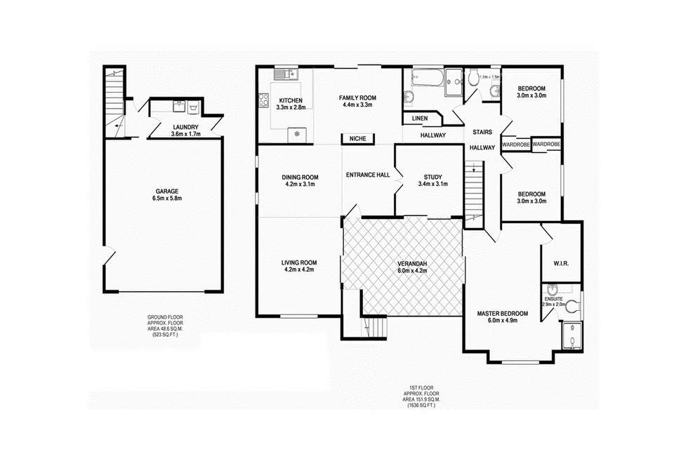 Floorplan of Homely house listing, 7 Torres Court, Burleigh Waters QLD 4220