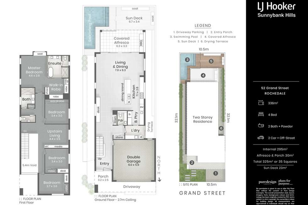 Floorplan of Homely house listing, 52 Grand Street, Rochedale QLD 4123