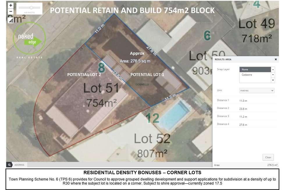 Floorplan of Homely house listing, 8 Hemeleers Street, Gosnells WA 6110
