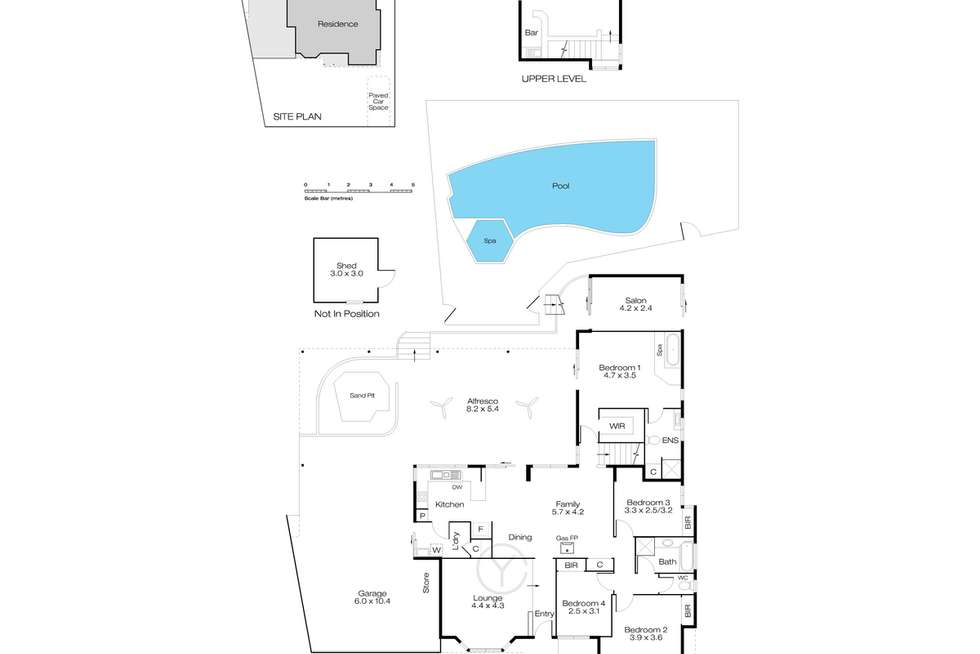 Floorplan of Homely house listing, 94 Marvell Avenue, Munster WA 6166