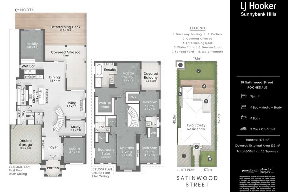 Floorplan of Homely house listing, 19 Satinwood Street, Rochedale QLD 4123