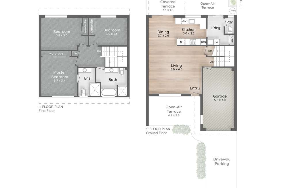 Floorplan of Homely apartment listing, 2/12-16 Bottlewood Court, Burleigh Waters QLD 4220