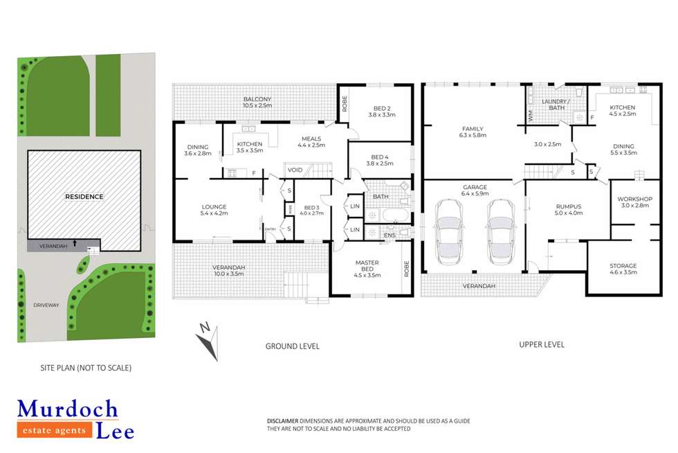 Floorplan of Homely house listing, 10 Blackett Drive, Castle Hill NSW 2154