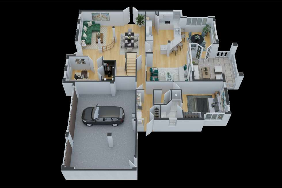 Floorplan of Homely house listing, 2 Waters Place, Bedfordale WA 6112