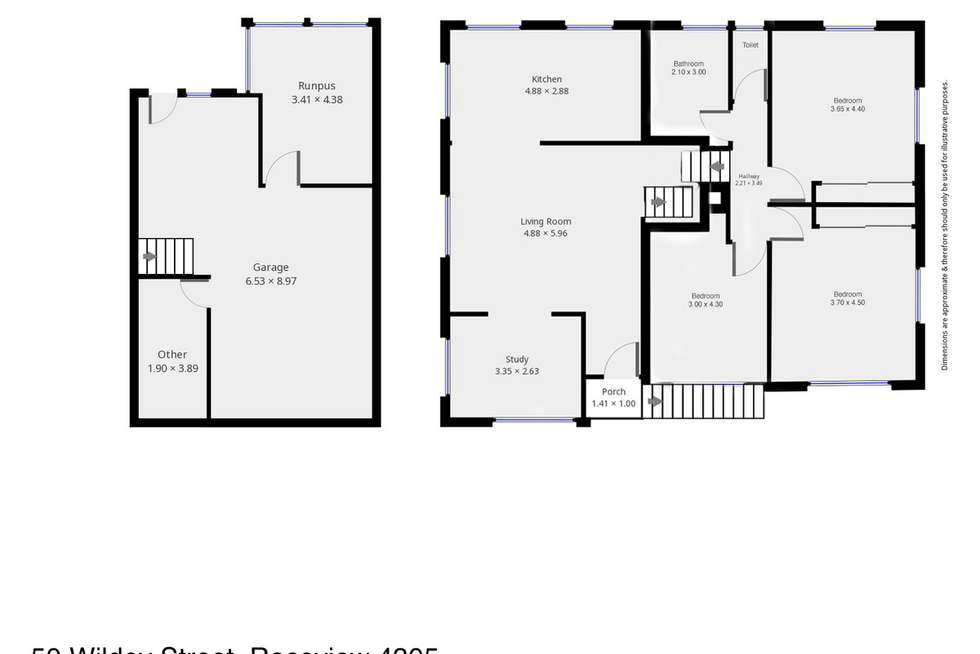 Floorplan of Homely house listing, 50 Wildey Street, Raceview QLD 4305