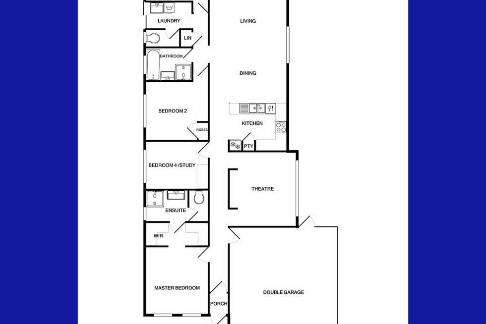 Floorplan of Homely house listing, 32 Serisier Parkway, Queens Park WA 6107