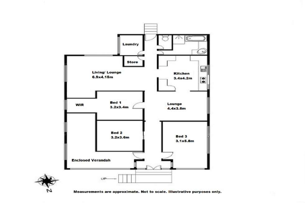 Floorplan of Homely house listing, 262 James Street, Harristown QLD 4350