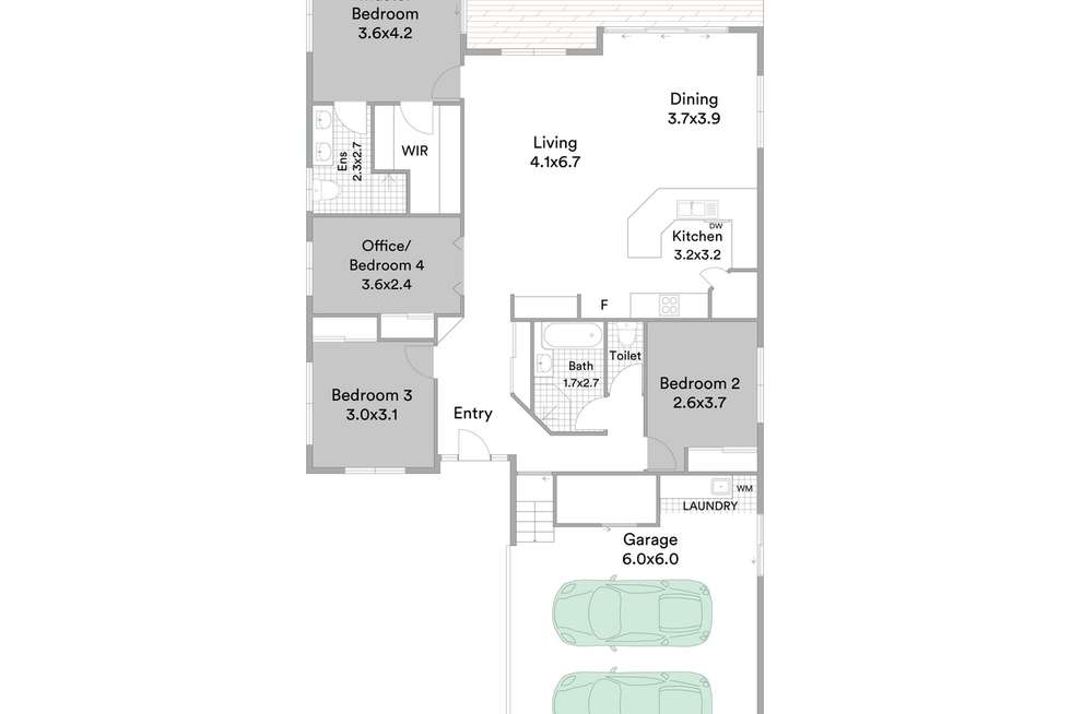 Floorplan of Homely house listing, 58a Deans Street East, Margate QLD 4019