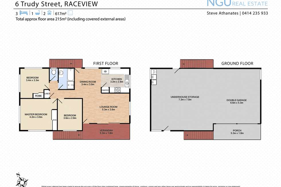 Floorplan of Homely house listing, 6 Trudy Street, Raceview QLD 4305