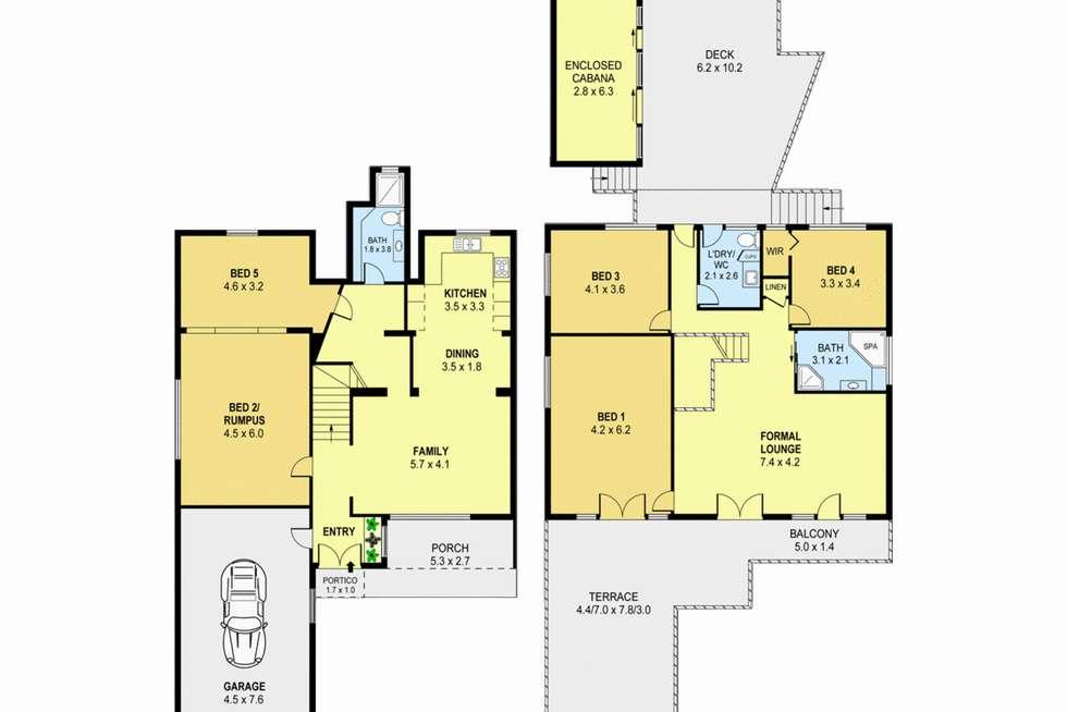 Floorplan of Homely house listing, 318 - 320 Gladstone Avenue, Mount Saint Thomas NSW 2500
