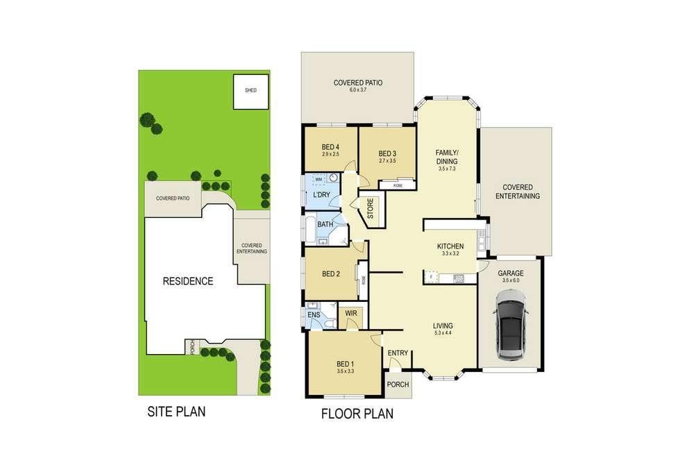 Floorplan of Homely house listing, 80 Huene Avenue, Halekulani NSW 2262